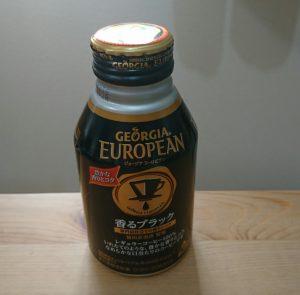 "Japanese canned coffee ""GEORGIA"""