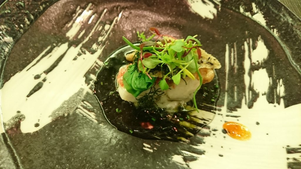 fish dish at CANNA