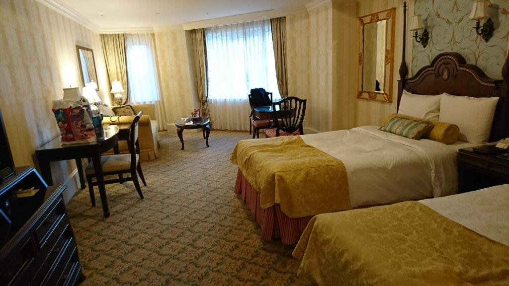 The room of Tokyo Disneyland Hotel