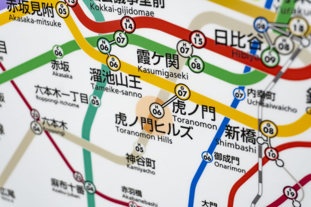 the subway map